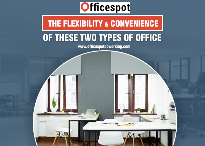 The flexibility and convenience of these two types of office