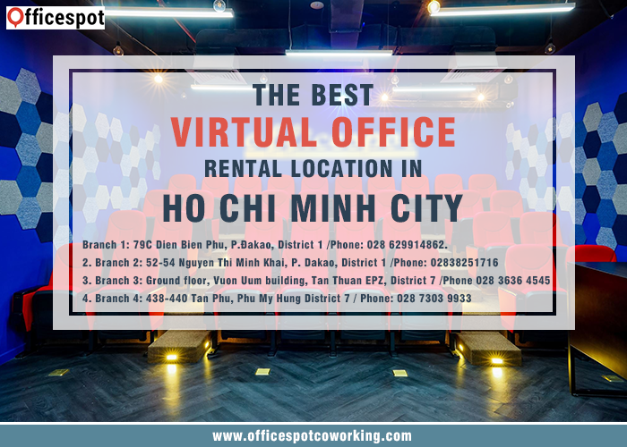 The best Virtual Office rental locations in Ho Chi Minh City