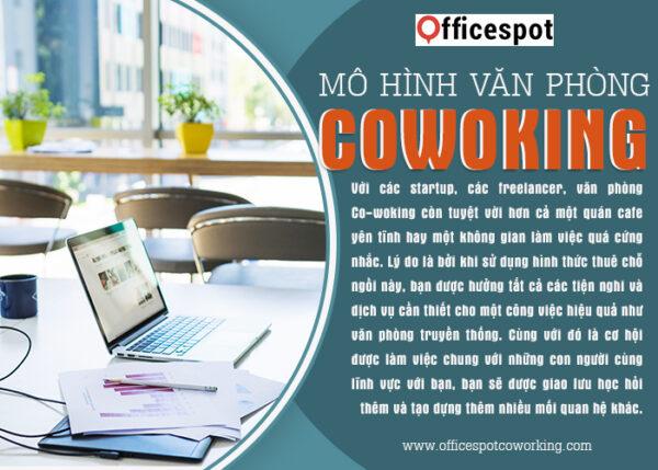 2/ Mô hình văn phòng Co-woking (Co-working Space)