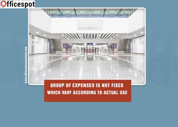 Group of expenses is not fixed which vary according to actual use